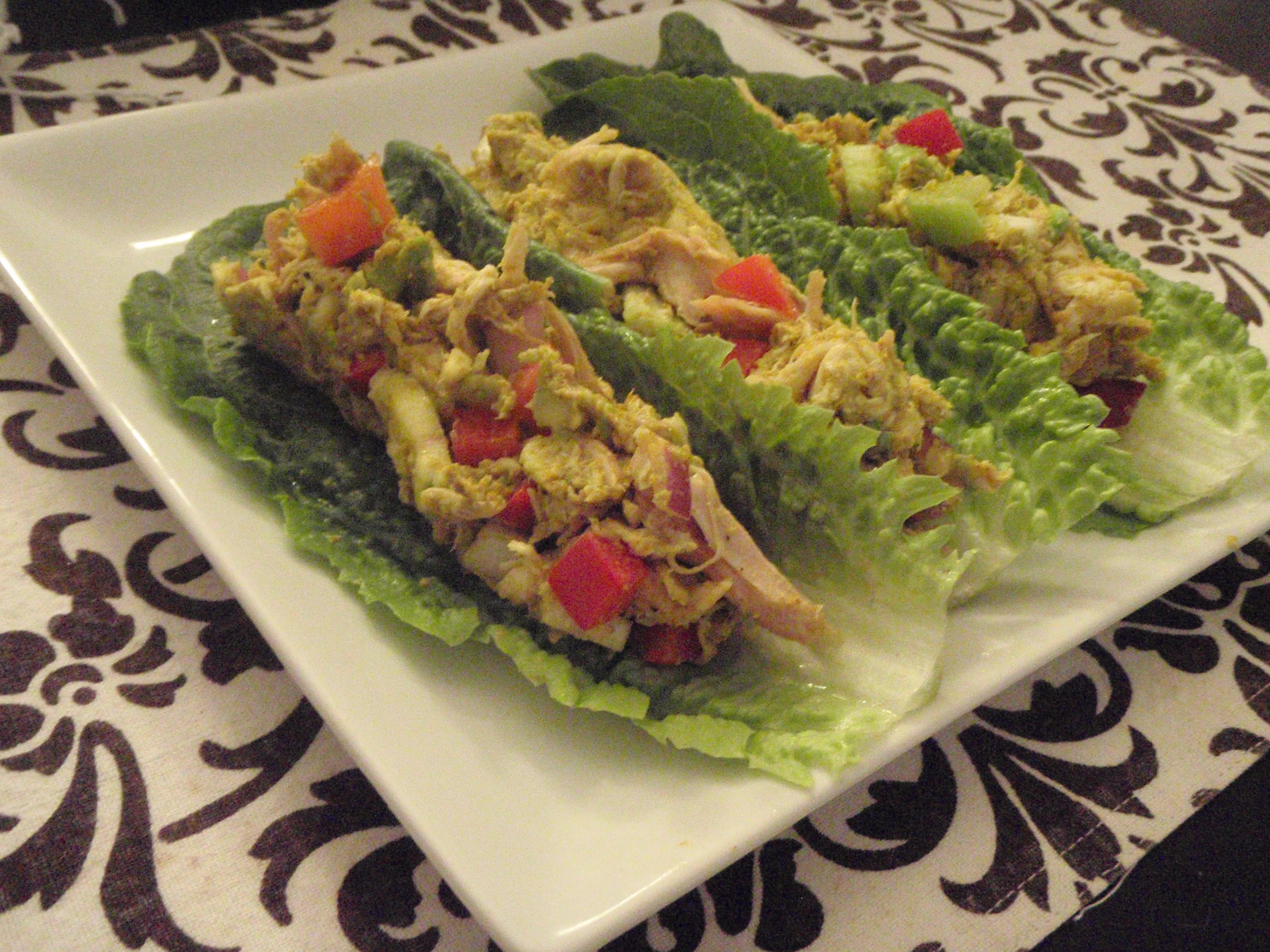 Curried Chicken Salad Wraps | Cosmopolitan Primal Girl